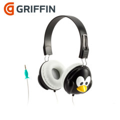 Griffin KaZoo Sound Control Headphones - Penguin
