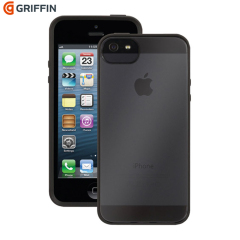 Griffin Reveal Case for iPhone 5S / 5 Black/Clear