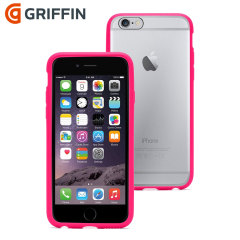 Griffin Reveal iPhone 6 Bumper Case - Clear / Pink