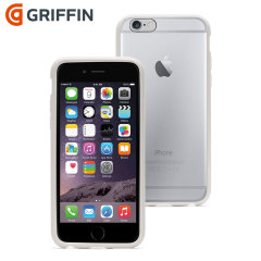 Griffin Reveal iPhone 6 Bumper Case - Clear / White
