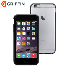 Griffin Reveal iPhone 6 Plus Bumper Case - Clear / Black