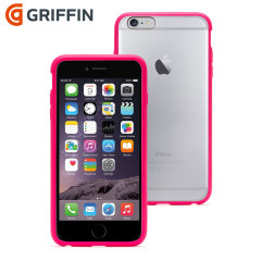Griffin Reveal iPhone 6 Plus Bumper Case - Clear / Pink