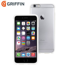 Griffin Reveal iPhone 6 Plus Bumper Case - Clear / White