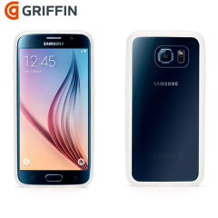 Griffin Reveal Samsung Galaxy S6 Bumper Case - Clear / White