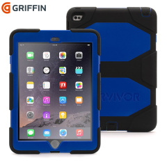 Griffin Survivor All-Terrain iPad Air 2 Tough Case - Blue / Black