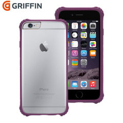 Griffin Survivor Core iPhone 6 Case - Purple / Clear