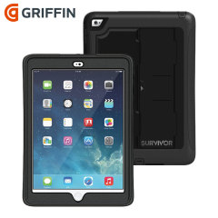 Griffin Survivor Slim iPad Air 2 Tough Case - Black