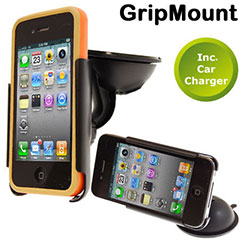 GripMount Case Compatible Car Pack - iPhone 4S / 4