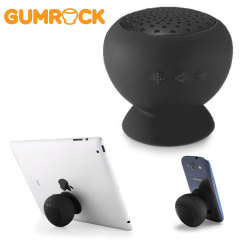 Gum Rock Bluetooth Portable Suction Speaker Stand - Black
