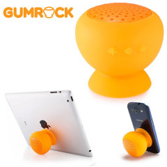 Gum Rock Bluetooth Portable Suction Speaker Stand - Orange