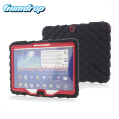 Gumdrop Drop Series Samsung Galaxy Tab 3 10.1 Case - Black / Red