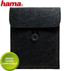 Hama Felt Case for iPad 3 / iPad 2 - Black