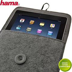 Hama Felt Case for iPad 3 / iPad 2 - Grey