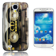 Hard Cover Case For Samsung Galaxy S4 - Cassette Print