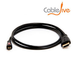 HDMI to Micro HDMI Cable for Tesco Hudl & Hudl 2 / Kindle Fire HD