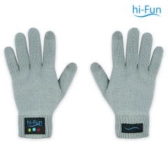 Hi-Fun Bluetooth Gloves for Women - Grey