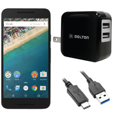 High Power 2.1A Google Nexus 5X Wall Charger - USA Mains
