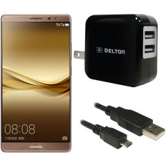 High Power 2.1A Huawei Mate 8 Wall Charger - USA Mains