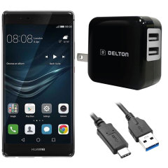 High Power 2.1A Huawei P9 Plus Wall Charger - USA Mains