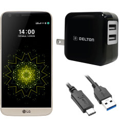 High Power 2.1A LG G5 Wall Charger - US Mains