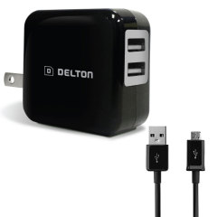 High Power 2.1A Micro USB Wall Charger - USA Mains