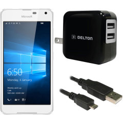 High Power 2.1A Microsoft Lumia 650 Wall Charger - USA Mains