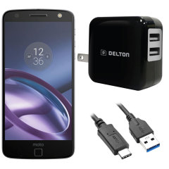 High Power 2.1A Motorola Moto Z Force Wall Charger - USA Mains