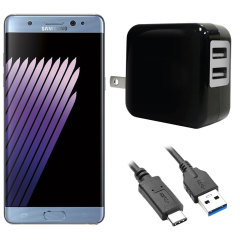 High Power 2.1A Samsung Galaxy Note 7 Wall Charger - USA Mains