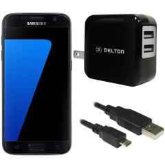 High Power 2.1A Samsung Galaxy S7 Wall Charger - US Mains