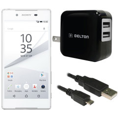 High Power 2.1A Sony Xperia Z5 Wall Charger - USA Mains