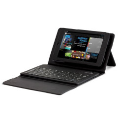 Hipstreet Google Nexus 7 Bluetooth Keyboard Case - HS-ANX7FKBCS-BK