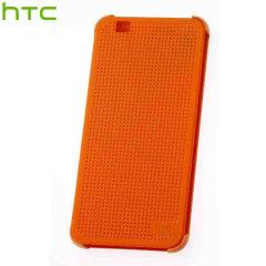 HTC Desire Eye Dot View Case - Orange Popsicle