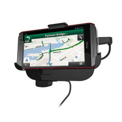 HTC One M8 In-Car Mount Cradle with Hands-Free - Black