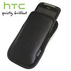 HTC PO S491 Mozart Standard Leather Pouch - Black