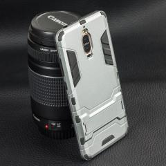 Huawei Mate 9 Porsche Design Protective Kickstand Case - Grey / Black
