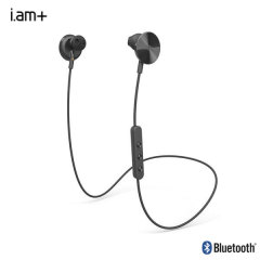 i.am plus Buttons Wireless Bluetooth Earphones - Black