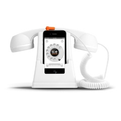 Ice-Phone Retro Handset - White