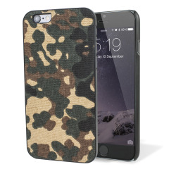iKins iPhone 6S / 6 Designer Shell Case - Camouflage