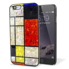 iKins iPhone 6S / 6 Designer Shell Case - Mondria