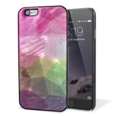 iKins iPhone 6S / 6 Designer Shell Case - Water Flower