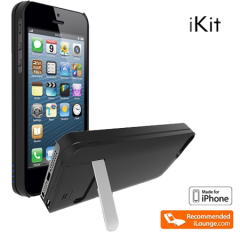 IKit NuCharge 1900mAh Battery Pack & Case for IPhone 5S / 5 - Black