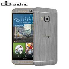 dbrand HTC One M9 Titanium Skin - Silver