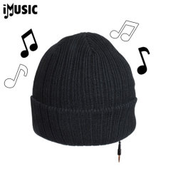 iMusic Hat Knitted Unisex - Black