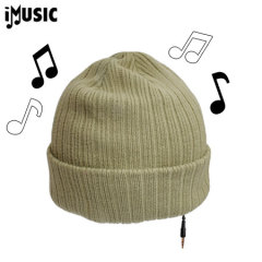 iMusic Hat Knitted Unisex - Khaki