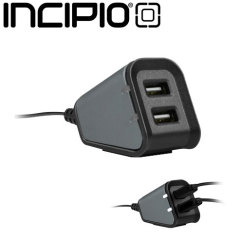 Incipio Dual 2.4A USB Desktop Charging Station - US Wall Charger