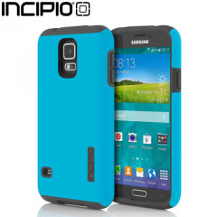Incipio DualPro Case for Samsung Galaxy S5 - Cyan / Grey