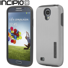 Incipio DualPro Shine Case for Samsung Galaxy S4 - Silver
