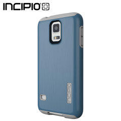Incipio DualPro Shine Case for Samsung Galaxy S5 - Navy / Grey