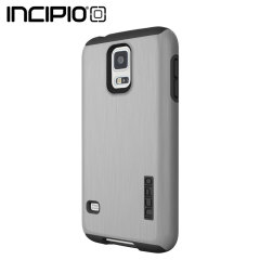 Incipio DualPro Shine Case for Samsung Galaxy S5 - Silver / Black