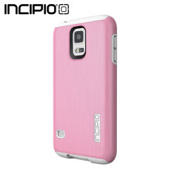 Incipio DualPro Shine Case for Samsung Galaxy S5 - White / Pink